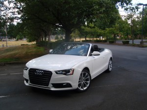 2013 Audi A5 Cabriolet - front view