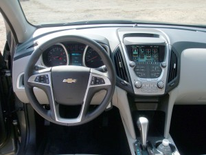 2013 Chevrolet Equinox dashbaord