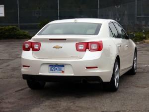 2013 Chevy Malibu - rear