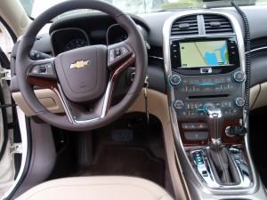 2013 Chevy Malibu - Dashboard (Chevrolets 2013 lineup)
