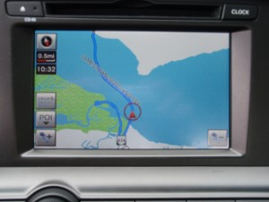 2013 Kia Optima Limited - navigation