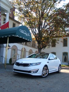 2013 Kia Optima Limited - front view