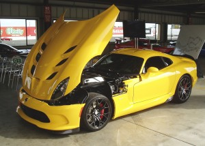2013 Dodge Viper - Optional alloy wheels