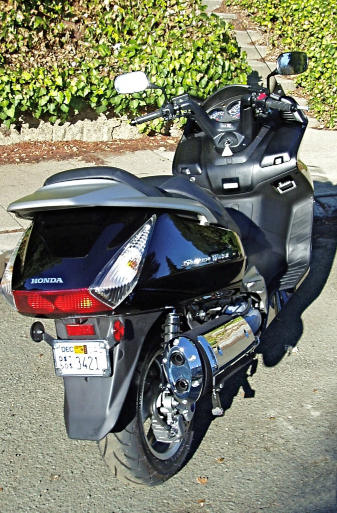 2012 Honda Silver Wing Scooter - Dash
