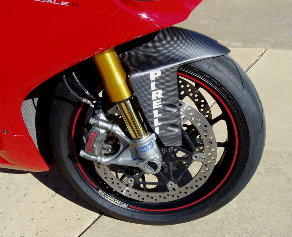 2012 Ducati 1199 S Panigale - Wheels