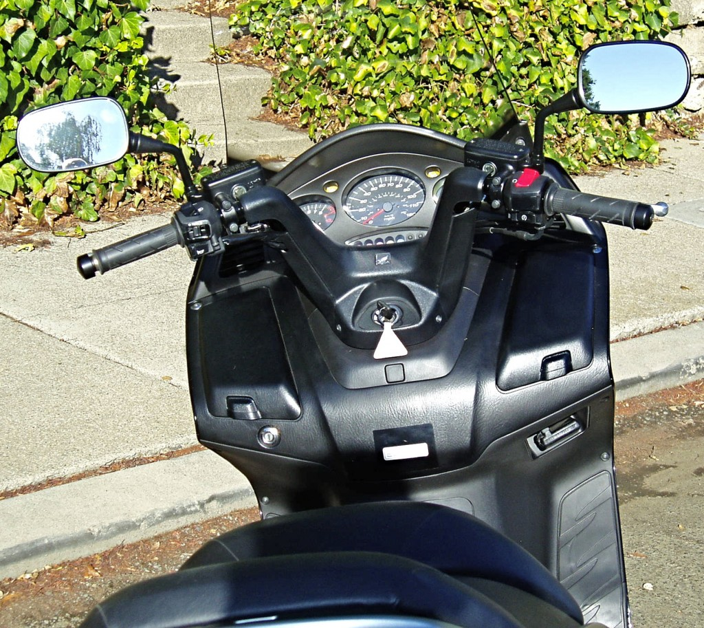 2012 Honda Silver Wing Scooter- Dash