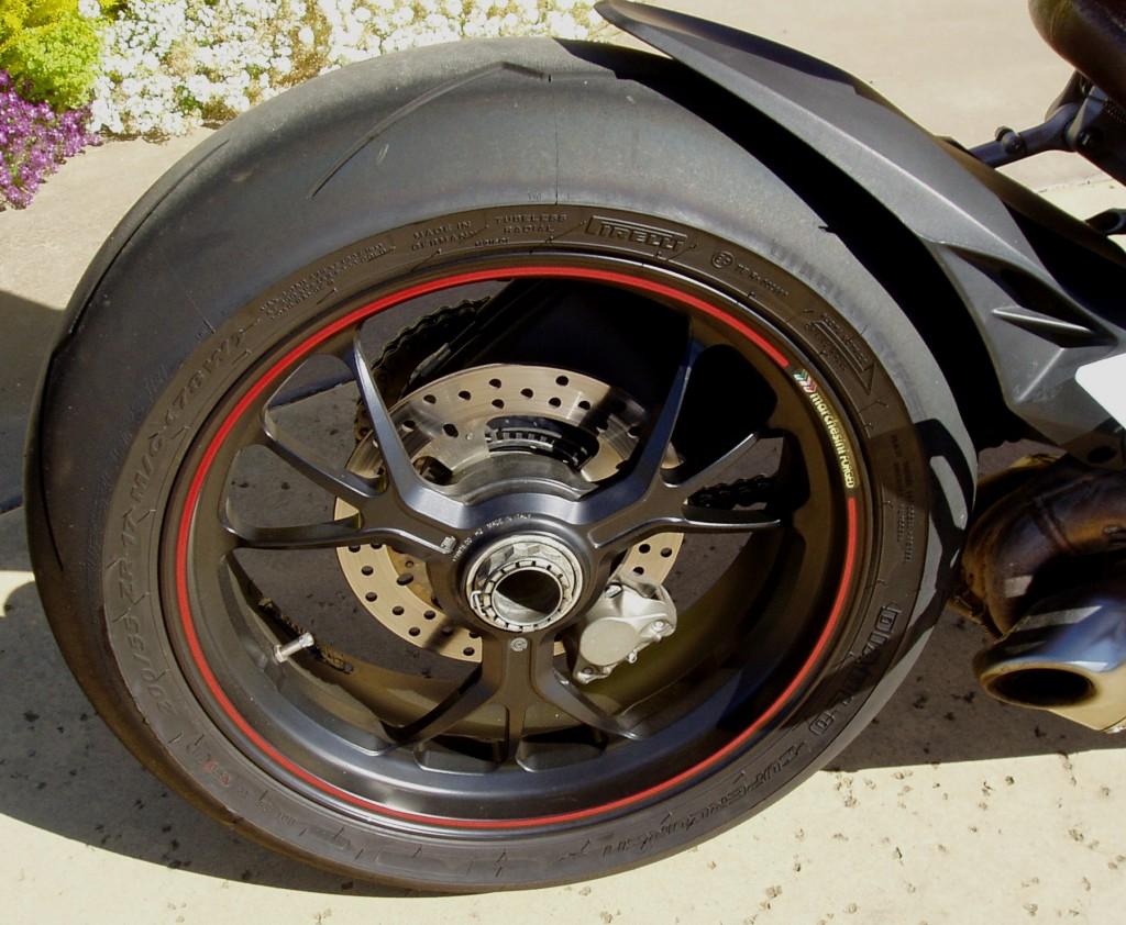 2012 Ducati 1199 S Panigale  Wheels