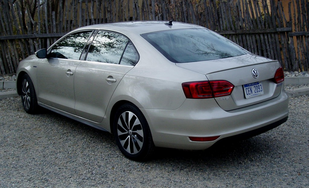 2013 Volkswagen Jetta  - Rear view