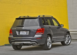 2013 Mercedes-Benz GLK350  (Rear View)