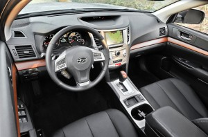 2013 Subaru Outback - Interior view