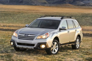 2013 Subaru Outback - action shot