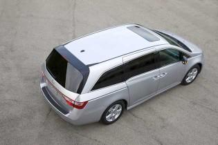 2013 Honda Odyssey - above