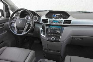 2013 Honda Odyssey - dash