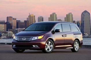2013 Honda Odyssey TE - front