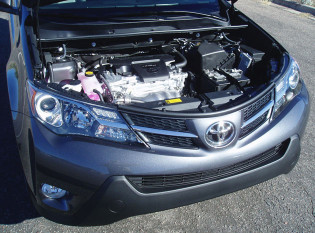 2013 Toyota RAV4 - Engine Compartment