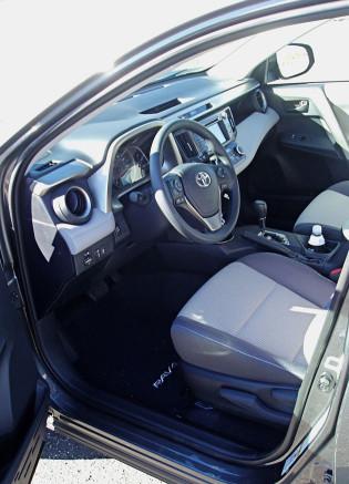 2013 Toyota RAV4 - Interior