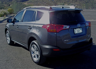 2013 Toyota RAV4 - rear-view