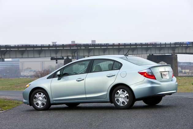 2012 Honda Civic Hybrid-side