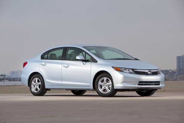 2012 Honda Civic Natural Gas side view