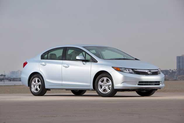 Honda Civic 2012 – 3 Civics
