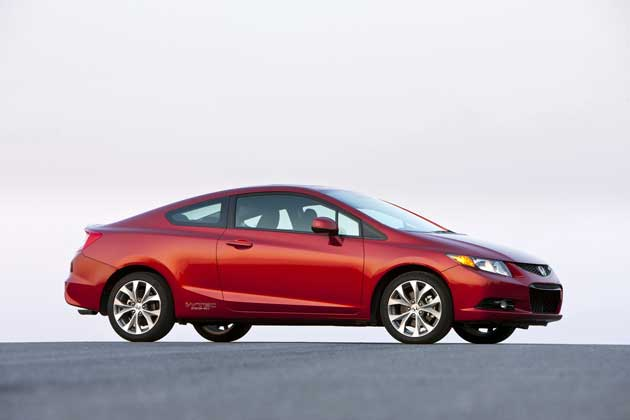 2012 Honda Civic SiCoupe-side