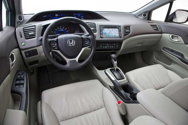 2012 Honda Civic - interior