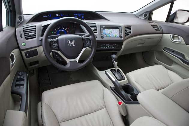 2012 Honda Civic - interior