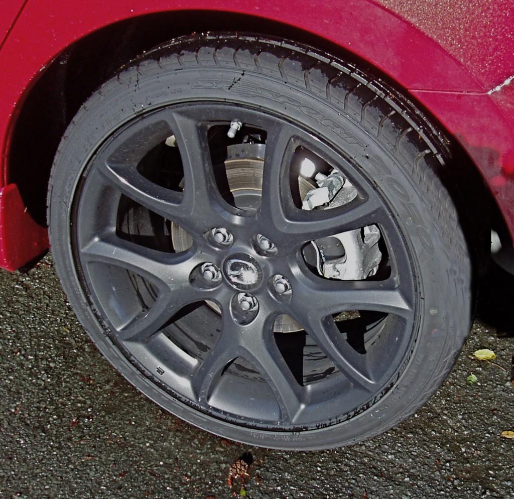 2013 MazdaSpeed3 - Wheels