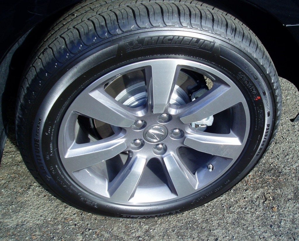 2013 Acura ZDX Wheels