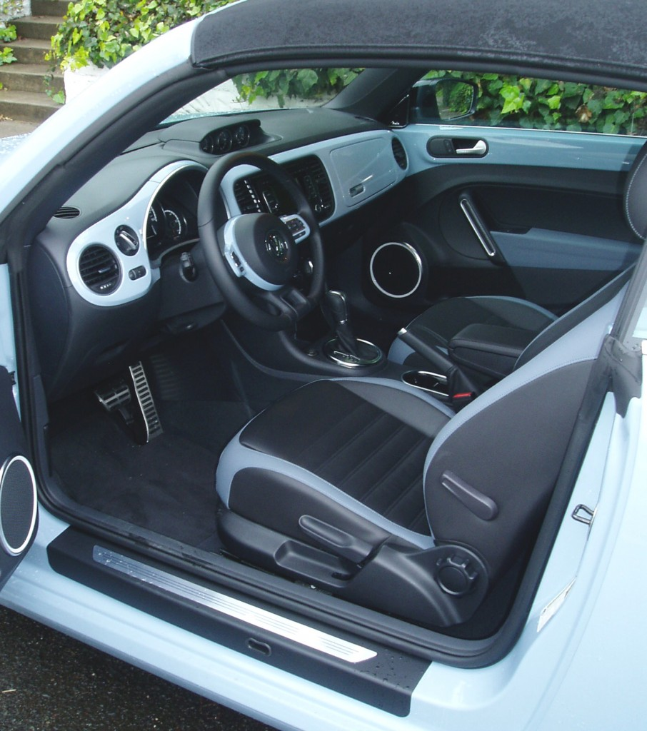 2013 Volkswagen Beetle Convertible- Interior