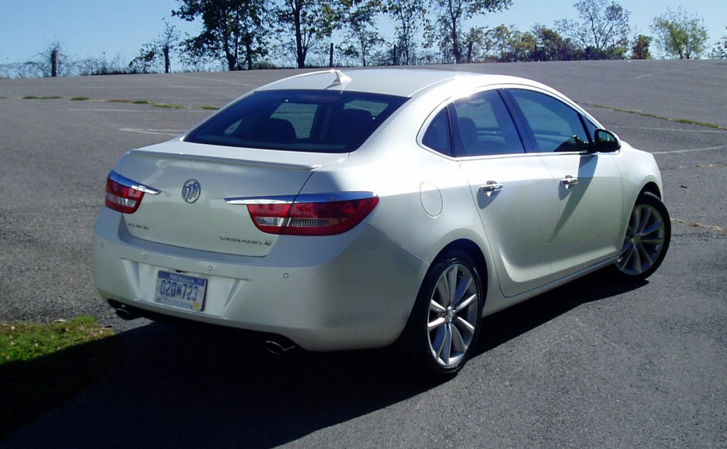 2013 Buick Verano Turbo- Rear view