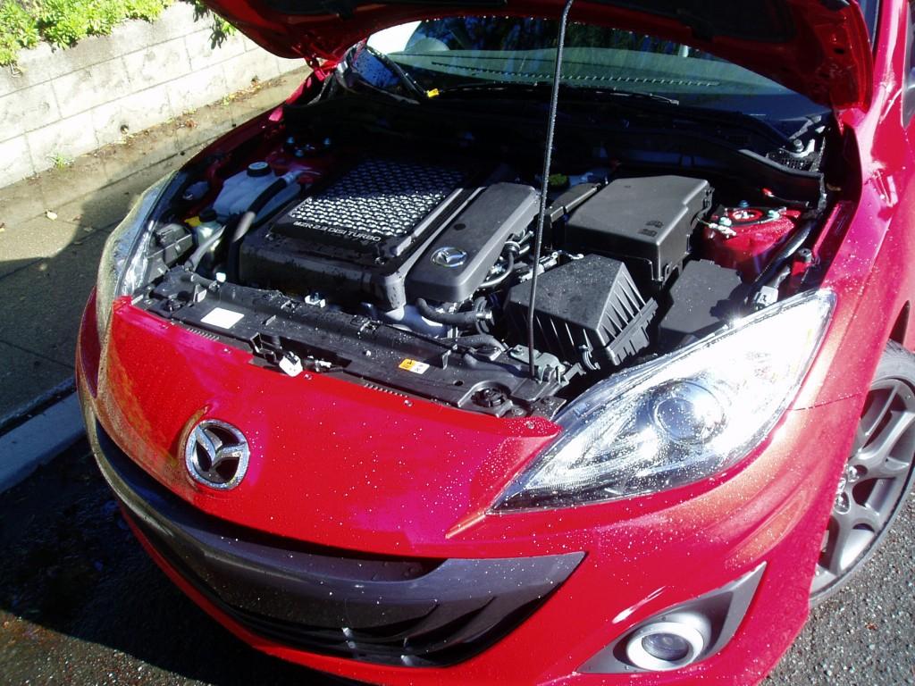 2013 MazdaSpeed3 - Engine Compartment