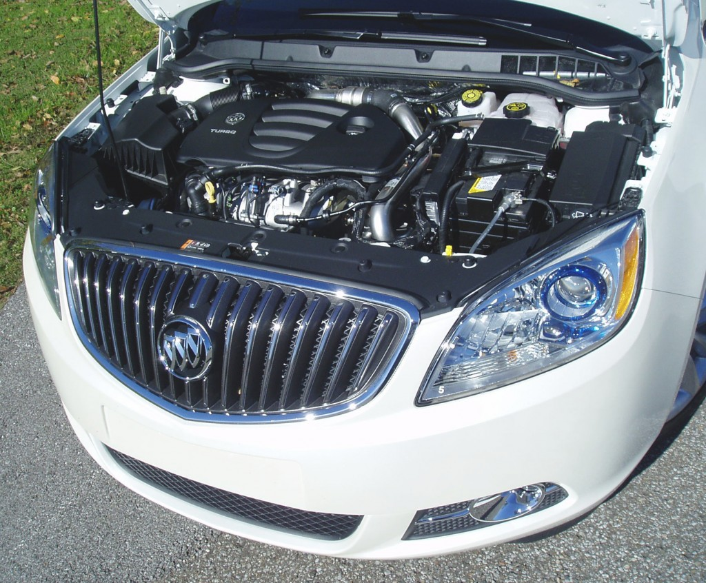 2013 Buick Verano Turbo - Engine