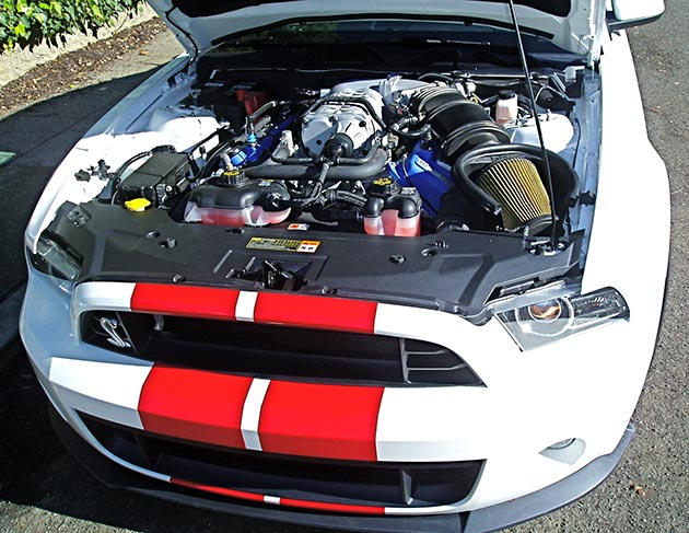 Shelby Mustang Engine