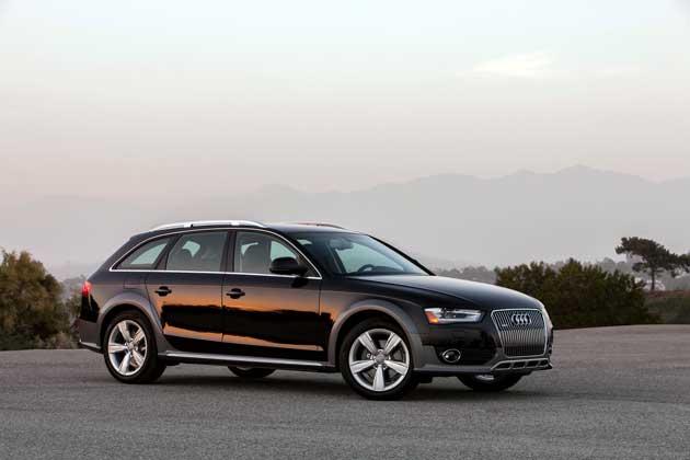 2013 Audi allroad front