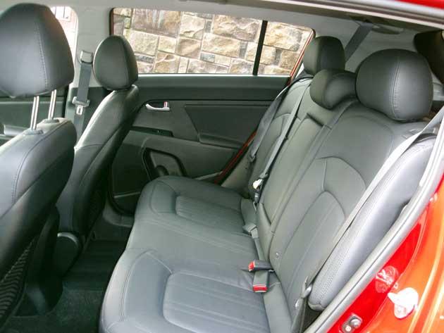 2013 Kia Sportage SX rear seat