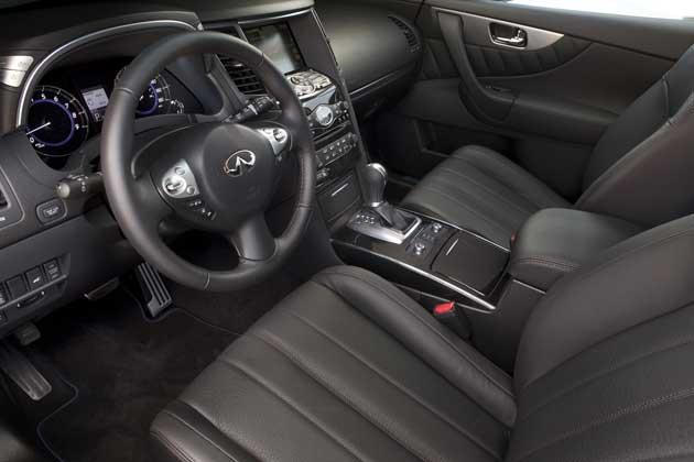 2013 Infiniti FX37 interior