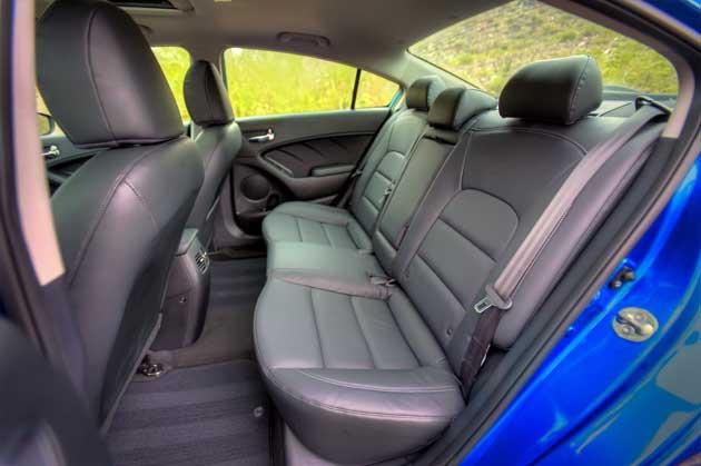 2014 Kia Forte EX rearseat