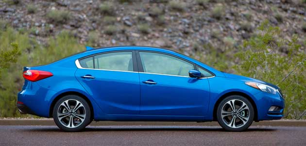 2014 Kia Forte EX side