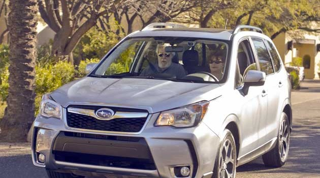 2014 Subaru Forester Test Drive