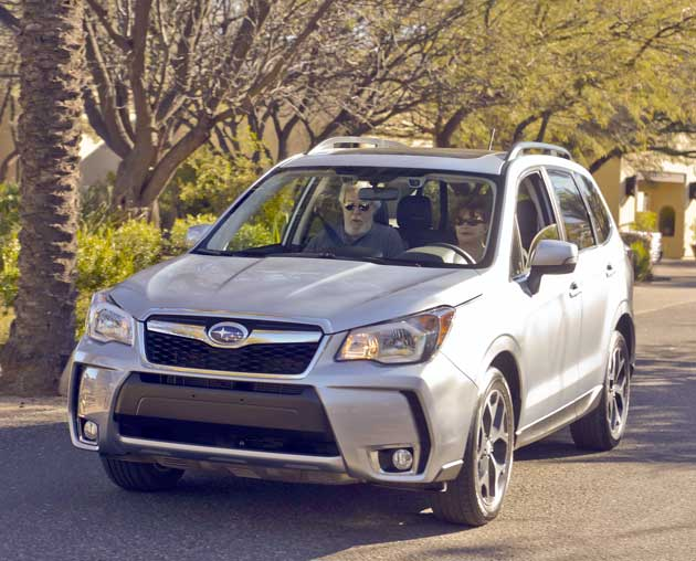 2014 Subaru Forester XT front