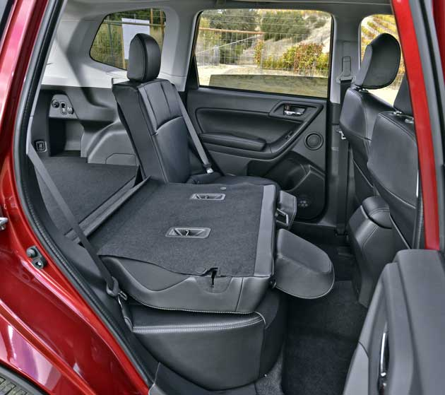 2014 Subaru Forester seat down