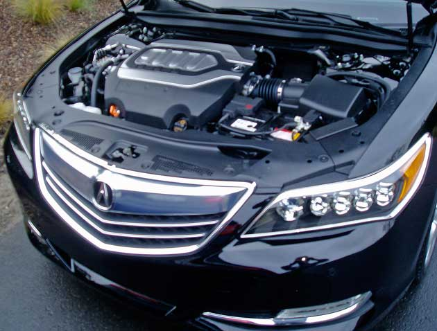 2014 Acura RLX - Engine