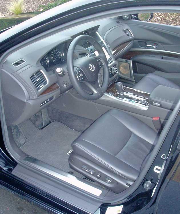 Acura Rlx: 2014 Acura RLX Advance Test Drive