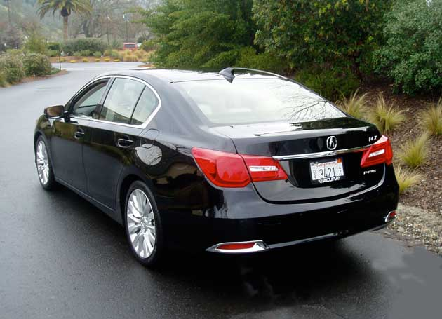 2014 Acura RLX Back