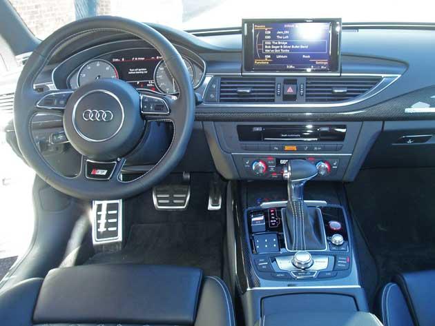 2013 Audi S7 - Dashboard