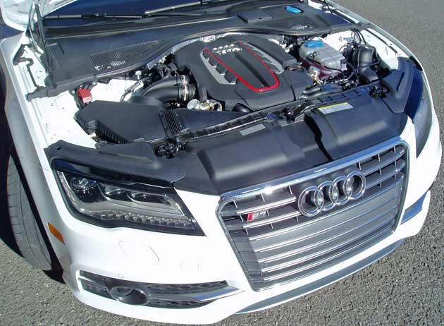 2013 Audi S7 - Engine