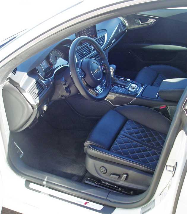 2013 Audi S7 - Interior
