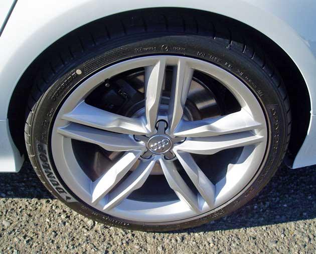 2013 Audi S7 - wheels