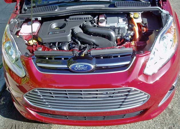 Ford C-MAX Hybrid Engine